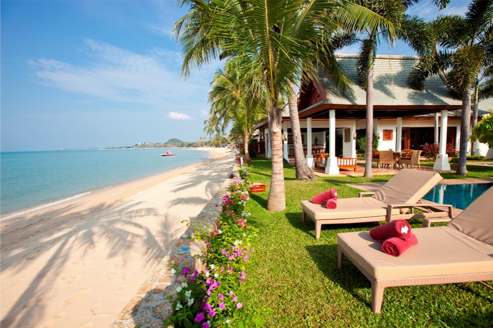 Blissful beach residence for Luxury retreats koh samui