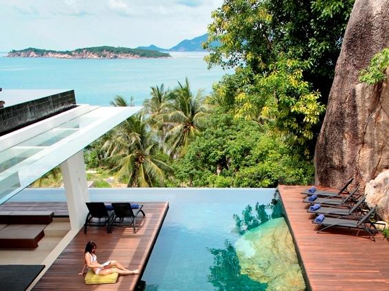 Koh samui luxury rental in choengmon koh samui luxury villas for Luxury retreats koh samui